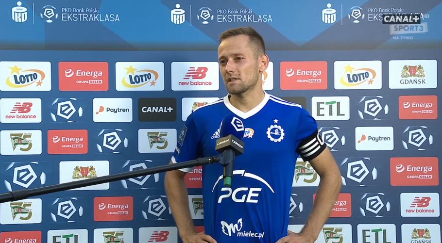 Lechia Gdańsk Stal Mielec PKO BP Ekstraklasa Krystian Getinger