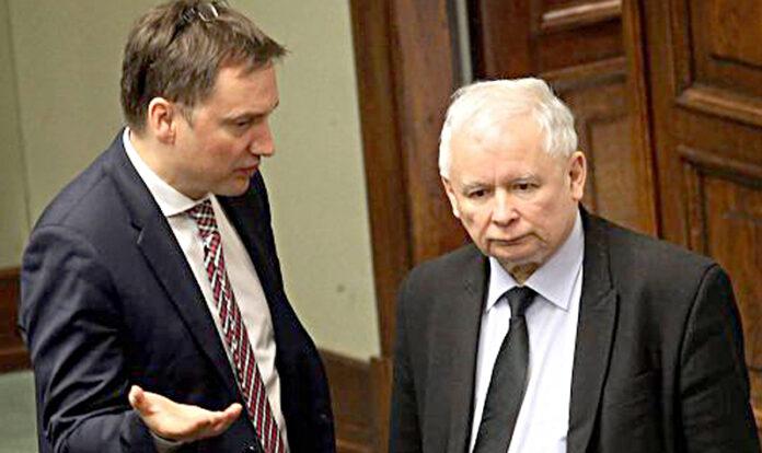 Rząd PiS Zbigniew Ziobro Jarosław Kaczyński