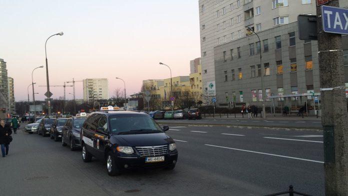 Warszawska taksówka