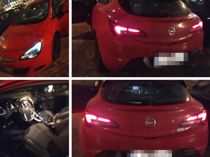 Skradzione auto. Fot. policja.pl
