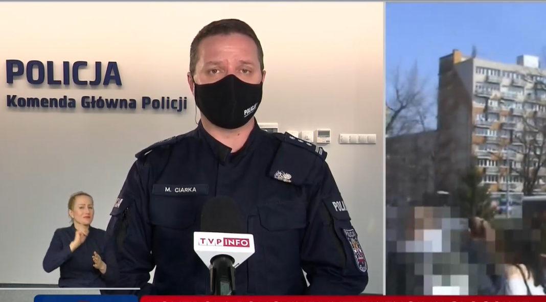 Mariusz Ciarka Policja